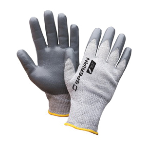 Sperian® by Honeywell PF570XL Pure Fit™ Lightweight Cut Resistant Gloves, XL, Nitrile Coating, HPPE/Stainless Steel, Knit Wrist Cuff, Resists: Abrasion, Cut, Slash and Snag, ANSI Cut-Resistance Level: A4, Paired Hand