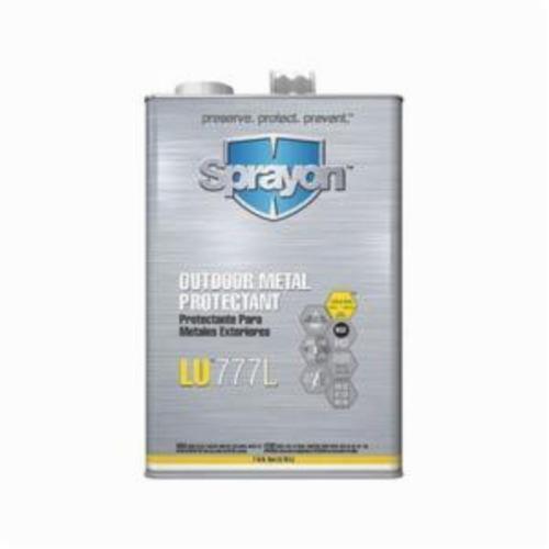 Sprayon® S77701000 Liqui-Sol™ LU™777L Medium Pressure Non-Aerosol Outdoor Metal Protectant, 1 gal Refill/Can, Viscous Liquid, Amber, 0.84