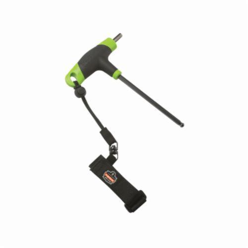 Squids® 19042 3115 Wrist Tool Lanyard, 2 lb Load Capacity, 7-1/2 in L, Polyester Webbing Line, 1 Legs, Choke-Off Loop Harness Connection Hook, Specifications Met: ANSI/ISEA 121-2018