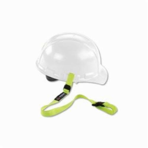 Squids® 19150 3150 Standard Hard Hat Lanyard With Buckle, 2 lb Working, Elastic, Lime