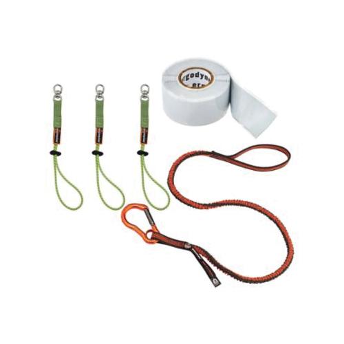 Squids® 19652 3182 Tool Tethering Kit, Elastic Cloth/Silicone