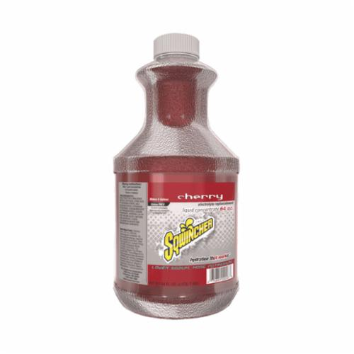 Sqwincher® 030321-CH Sports Drink Mix, 64 oz Bottle, 5 gal Yield, Liquid Form, Cherry
