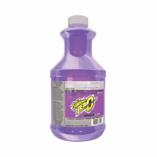 Sqwincher® 050103-GR Zero Sugar Free Sports Drink Mix, 64 oz Bottle, Liquid, 5 gal Yield, Grape