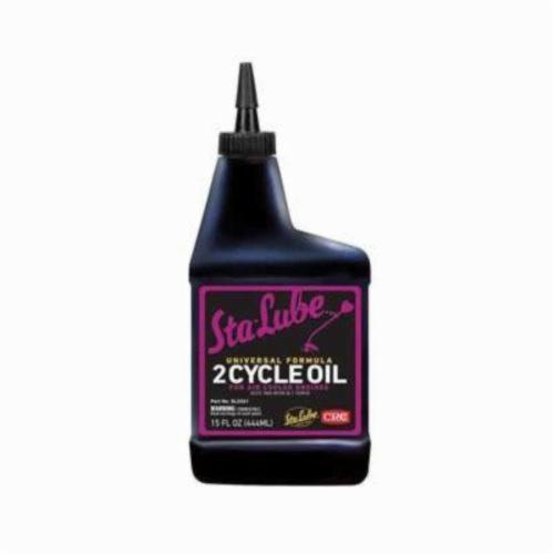 Sta-Lube® SL2261 Combustible Universal 2-Cycle Oil, 15 oz Bottle, Liquid, Blue, 0.883
