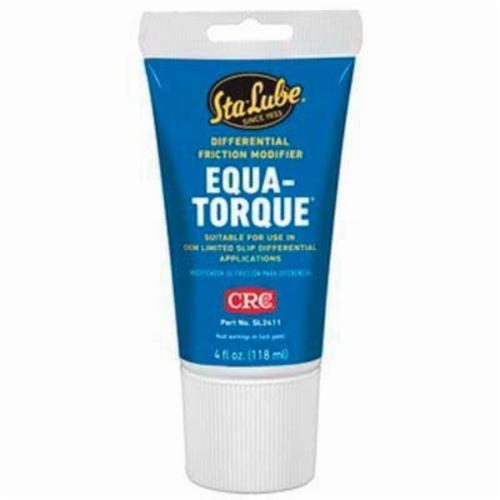 Sta-Lube® SL2411B Equa-Torque® Differential Non-Flammable Wet Film Friction Modifier, 4 oz Tube, Liquid, Amber, 0.92