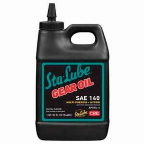 Sta-Lube® SL24228 API/GL-4 Hypoid Multi-Purpose Non-Flammable Gear Oil, 32 oz Bottle, Mild Odor/Scent, Liquid Form, SAE 140 Grade, Amber
