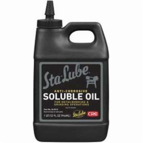 Sta-Lube® SL2512 Non-Flammable Soluble Oil, 32 oz Bottle, Liquid Form, Amber, 0.92