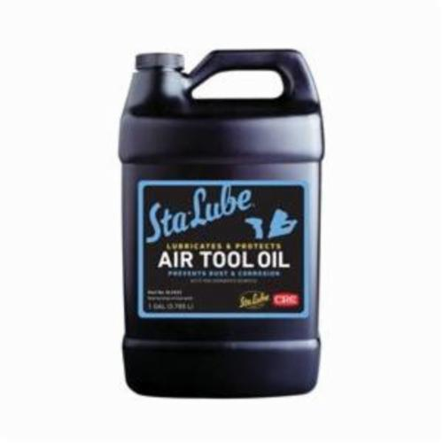 Sta-Lube® SL2533 Non-Flammable Air Tool Oil, 1 gal Bottle, Liquid Form, Amber/Blue, 0.91