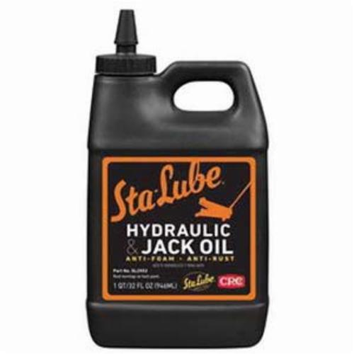 Sta-Lube® SL2552 Medium Weight Non-Flammable Hydraulic/Jack Oil, 32 oz Bottle, Liquid, Amber, 0.9