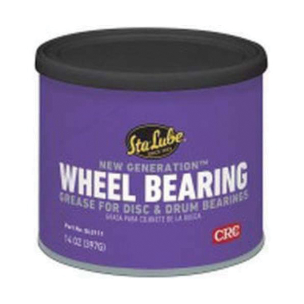 Sta-Lube® SL3111 New Generation Non-Flammable Wheel Bearing Grease, 14 oz Can, Semi-Solid to Solid Grease, Amber, Faint/Mild Petroleum