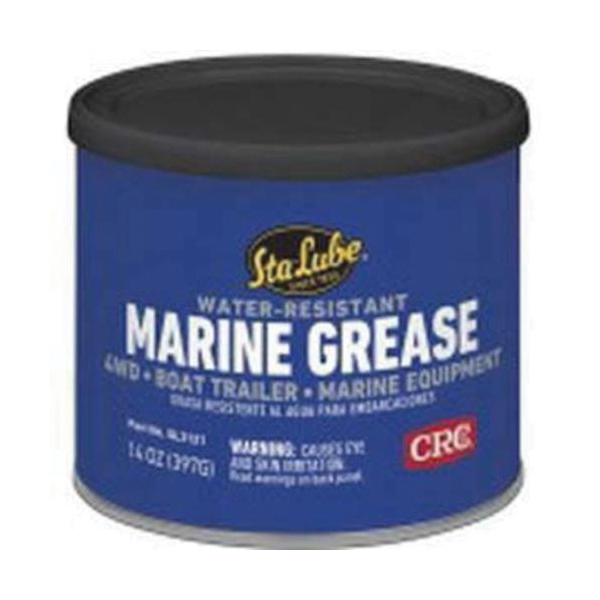 Sta-Lube® SL3121 Non-Flammable Bearing Grease, 14 oz Can, Semi-Solid to Solid Grease, Blue, 0 to 325 deg F