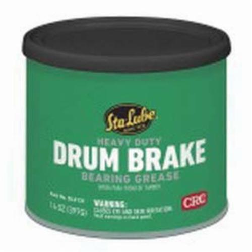 Sta-Lube® SL3131 Drum Brake Heavy Duty Non-Flammable Wheel Bearing Grease, 14 oz Can, Semi-Solid to Solid Grease, Dark Amber, Faint/Mild Petroleum
