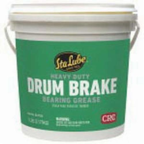 Sta-Lube® SL3136 Drum Brake Heavy Duty Non-Flammable Wheel Bearing Grease, 7 lb Pail, Semi-Solid to Solid Grease, Dark Amber, Faint/Mild Petroleum