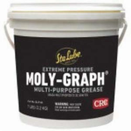 Sta-Lube® SL3146 Moly-Graph® Multi-Purpose Non-Flammable Lithium Grease, 7 lb Pail, Semi-Solid to Solid Grease, Dark Gray, -25 to 250 deg F