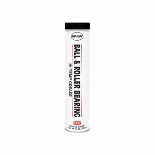 Sta-Lube® SL3630 Ball Roller High Temperature Industrial Non-Flammable Bearing Grease, 14 oz Cartridge, Semi-Solid to Solid Grease, Dark Gray, 0 to 325 deg F