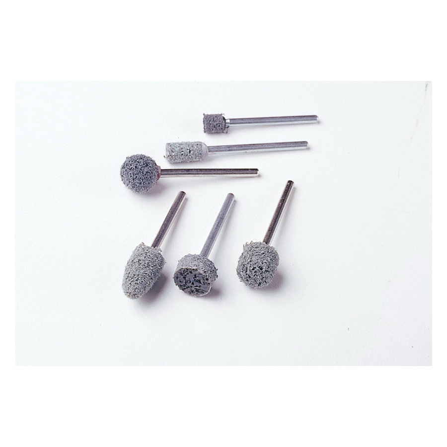 3M™ Standard Abrasives™ 051115-35250 Unitized Mounted Point, A21 Point, 1 in Dia x 1 in L Head, 1/4 in Dia Shank