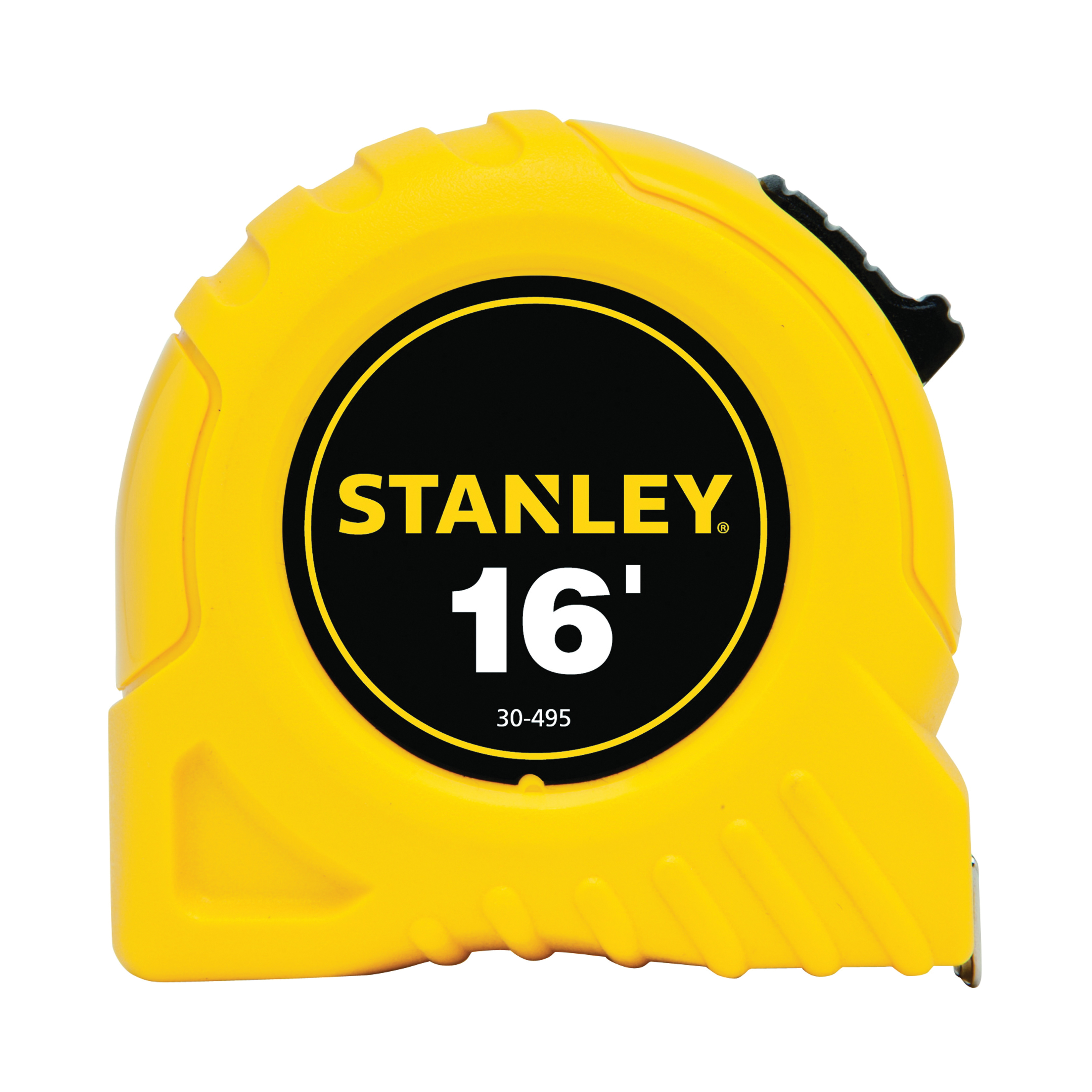 Stanley® 30-495 Tape Rule, 16 ft L x 3/4 in W Blade, Polymer Coated Steel, Imperial