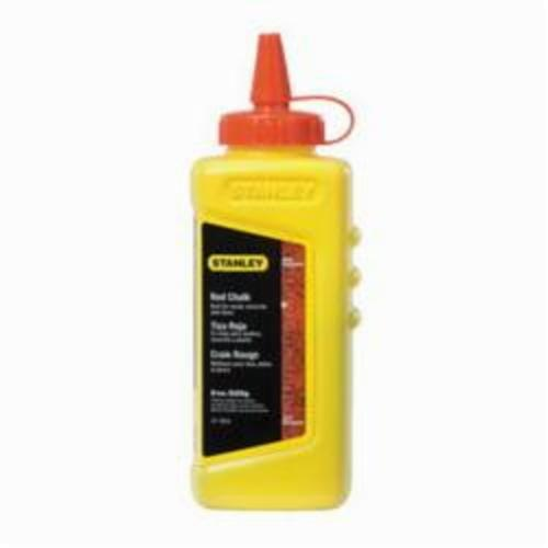 Stanley® 47-804 Chalk Refill, Red, 8 oz, Container