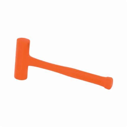 Stanley® Compo-Cast® 57-543 Slimline Head Soft Face Hammer, 12-7/8 in OAL, Soft Face, 21 oz Non-Ferrous Metal Head, Steel Handle