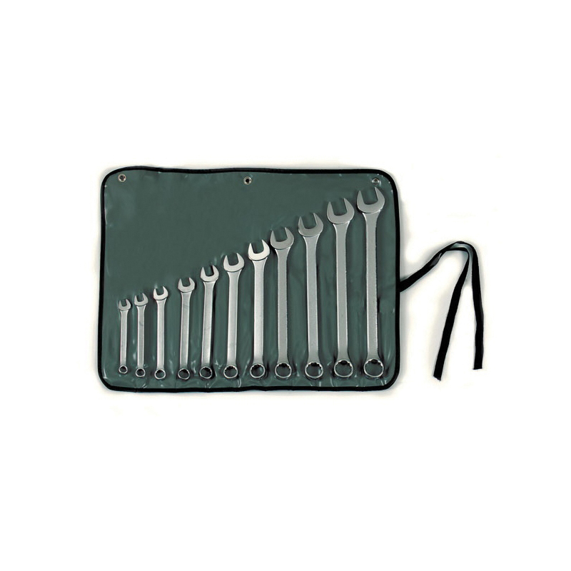 Stanley® Max-Drive™ 85-450 Standard Length Combination Wrench Set, SAE, 11 Pieces, 3/8 to 1 in, Satin