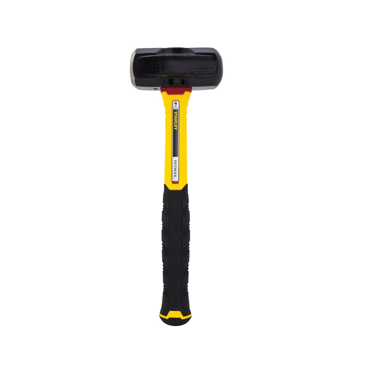 Stanley® FatMax® FMHT56009 Engineer Sledge Hammer, 14-1/2 in OAL, 4 lb Steel Head, Fiberglass Handle