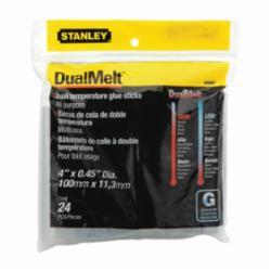 Stanley® GS20DT DualMelt™ All Purpose Dual Temperature Glue Stick, 0.45 in Dia x 4 in L, 365 deg F