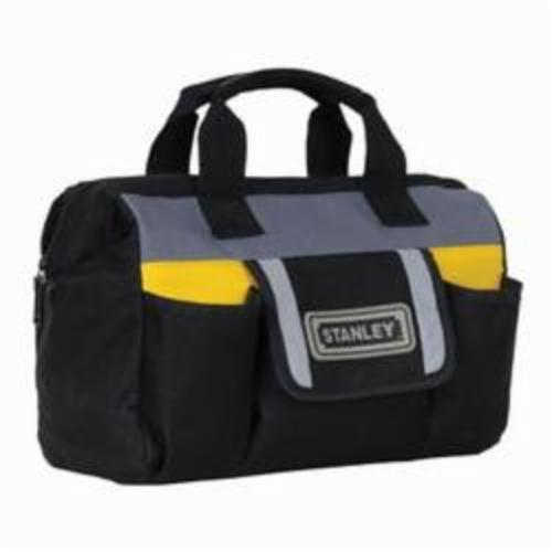 Stanley® FatMax® STST70574 Technician Tool Bag, Polyester/Polypropylene, Black/Yellow