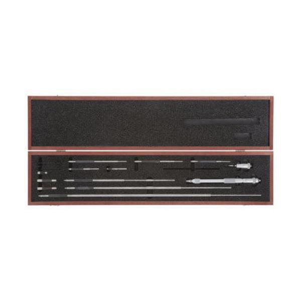Starrett® 124DZ Solid Rod Inside Micrometer, 2 to 32 in, Graduations: 0.001 in, Steel