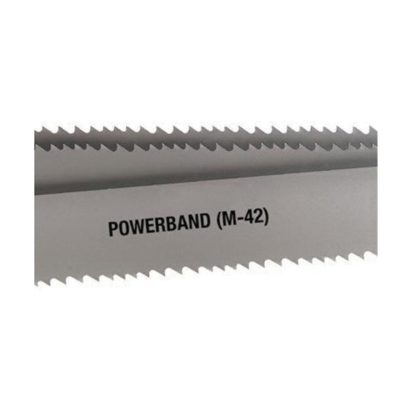 Starrett® 13984 Powerband General Purpose Band Saw Blade Coil Stock, 1 in W x 0.035 in THK, 8 to 12 TPI, HSS-Co Blade, 150 ft Coil