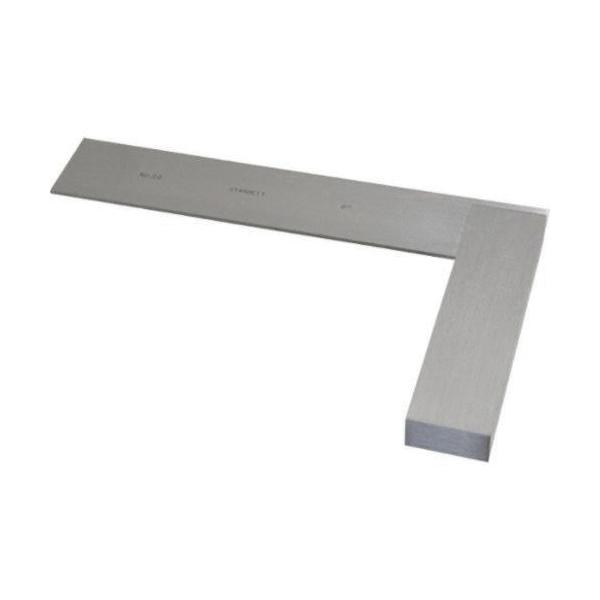 Starrett® 20-6 20 Series Non-Graduated Master Precision Square, 6 in, 1-5/16 in Tongue, Hardened Steel