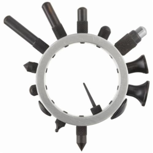 Starrett® 25R Shockproof Contact Point Set, For Use With AGD Dial Indicator, High Grade Steel