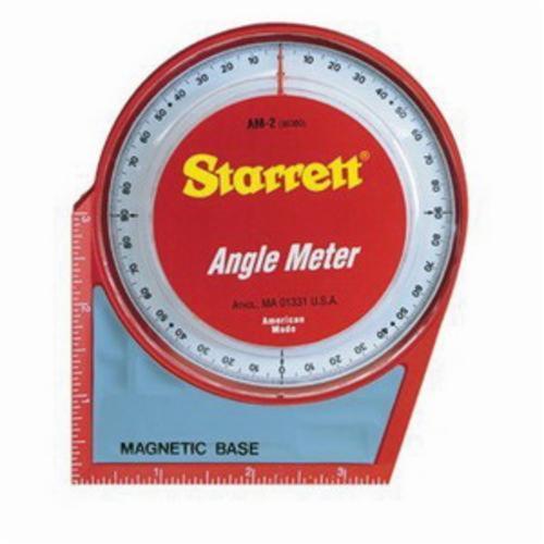 Starrett® AM-2 Magnetic Angle Meter, 5 in L Base, 5 in OAH