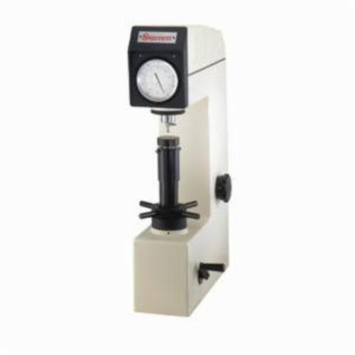 Starrett® 3814 Global Series® Benchtop Hardness Tester, Rockwell A Scale 80 Scale, Analog Dial Display, 0.1 HA Resolution