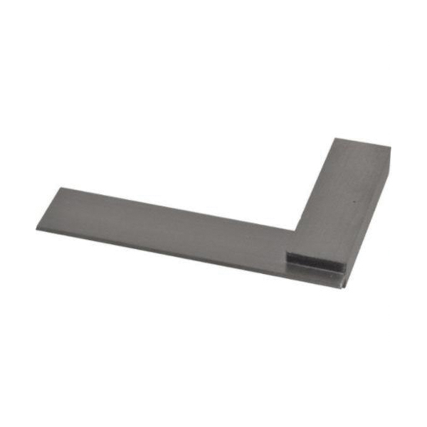 Starrett® 55-3 55 Series Non-Graduated Master Precision Square With Beveled Edge, 3 in, 3-1/64 x 55/64 in Tongue, Hardened Steel