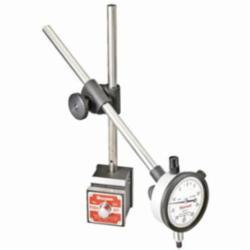 Starrett® 657E Magnetic Indicator Holder, 1-15/16 in L x 1-5/8 in W x 1-7/8 in H Base, 3/8 in Dia x 9-1/2 in L Rod