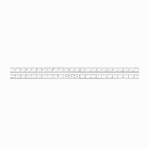 Starrett® B24-16R Inch Reading Combination Square Blade, 24 in Steel Blade, Quick-Reading 32nds, 64ths, Aircraft Quick-Reading 50ths, 100ths