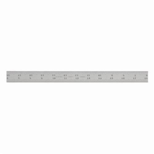Starrett® CB24-16R Combination Square Blade, 24 in Carbon Steel Blade, 1 Pieces, #16R - Quick-Reading 32nds, 64ths, Aircraft Quick-Reading 50ths, 100ths