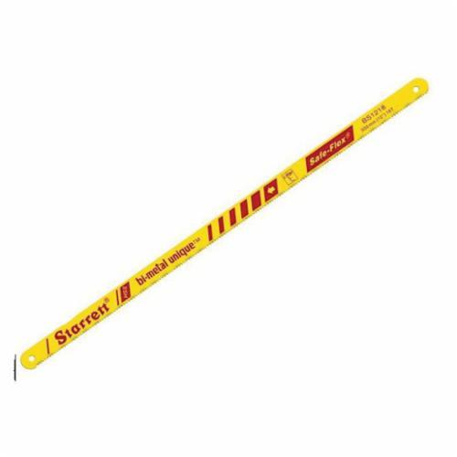 Starrett® KBS1218-2 Unique Hand Hacksaw Blade, 1/2 in W x 12 in L Blade, HSS Cutting Edge, B-Metal/HSS Blade, 18 TPI