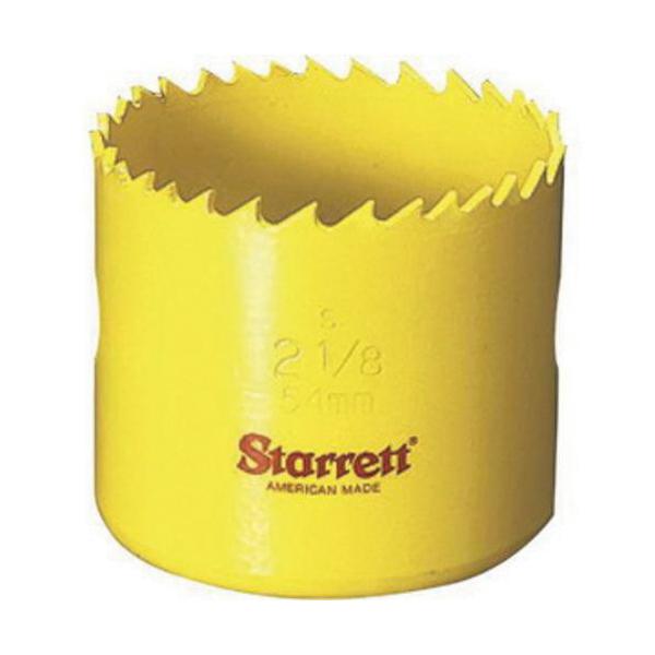 Starrett® VH0200 Fastcut™ All-Purpose Variable Pitch Hole Saw, 2 in Dia, 1-5/8 in D Cutting, HSS/Bi-Metal Cutting Edge, 43832 Arbor