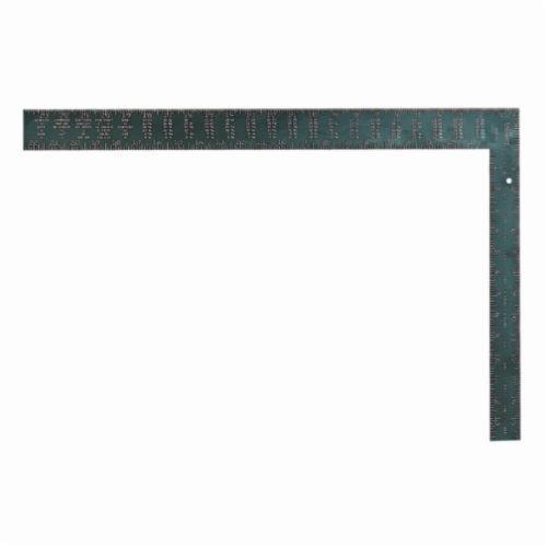Starrett® RSA-24 L-Shape Standard Rafter Square, 24 in L x 2 in W, 1/16ths Graduation, 16 x 1-1/2 in Tongue, Aluminum