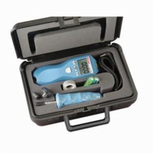Starrett® S7793Z Handheld Pocket Tachometer, +/-0.05% Accuracy, 2 in to 25 ft, +/-70 deg Working, Laser, 5-Digit Alphanumeric LCD Display