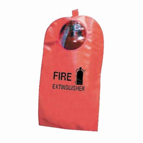 Steiner® XT58 Fire Extinguisher Cover, 8 in Dia x 20 in H Fits Tank, High-Viz Fyr-Glo, Red