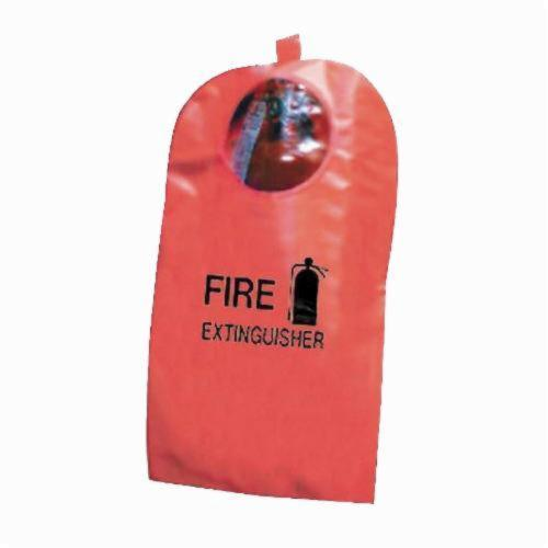 Steiner® XT58 Fire Extinguisher Cover, 8 in Dia x 20 in H Fits Tank, High-Viz Fyr-Glo, Red