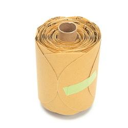 3M™ ATB™ 051111-49911 216U Open Coated PSA Tube Brush, 5 in Dia Disc, P120 Grit, Fine Grade, Aluminum Oxide Abrasive, Paper Backing