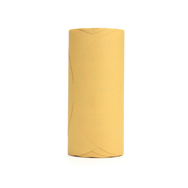 Stikit™ 051131-01356 Open Coated PSA Abrasive Disc Roll, 6 in Dia, P280 Grit, Coarse Grade, Aluminum Oxide Abrasive, Film Backing