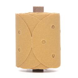 3M™ 051131-01628 216U Open Coated PSA Wheel Brush, 5 in Dia Disc, P80 Grit, Medium Grade, Aluminum Oxide Abrasive, Paper Backing