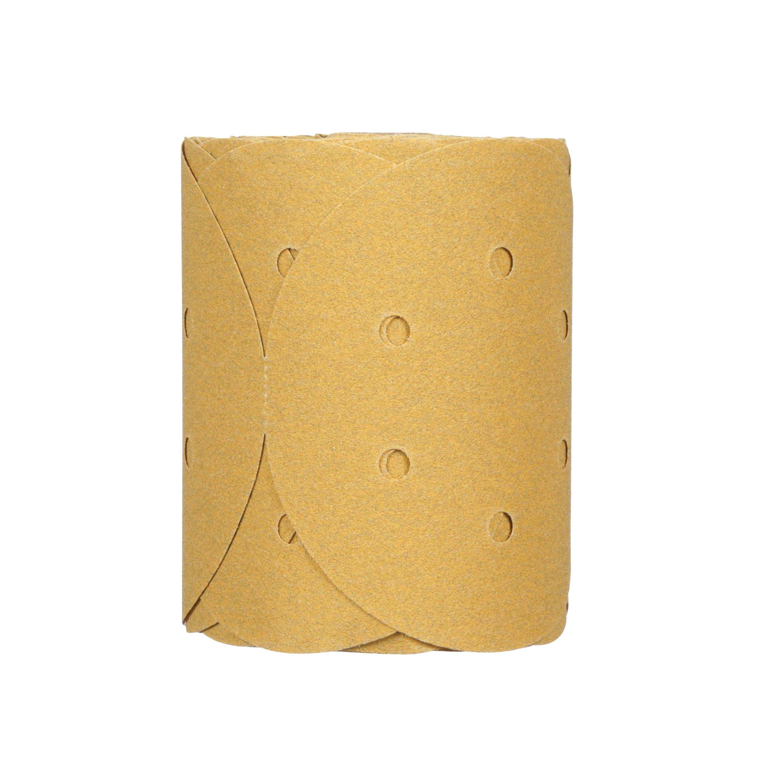 3M™ Stikit™ 051131-01643 Open Coated PSA Abrasive Disc Roll, 6 in Dia Disc, P80 Grit, Coarse Grade, Aluminum Oxide Abrasive, Paper Backing