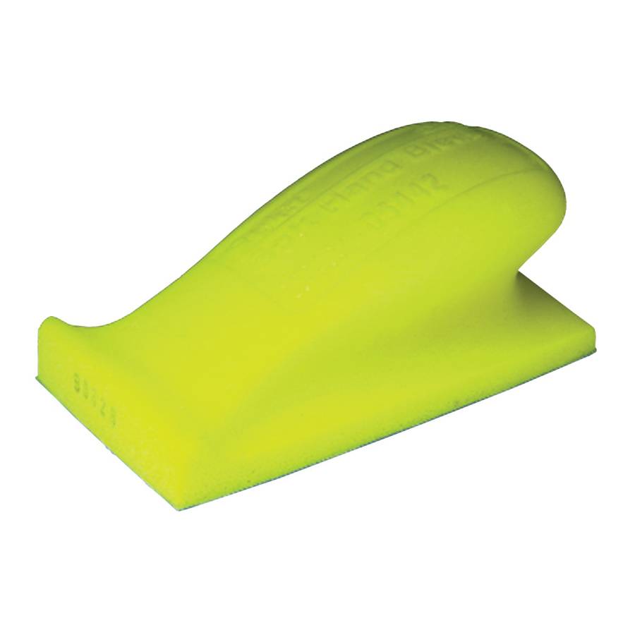 Stikit™ 051144-05442 Soft Density Hand Block, 5 in L x 2-3/4 in W, Molded Foam Abrasive, Stikit™ Attachment