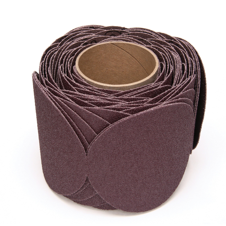 Stikit™ 051144-21752 Close Coated Abrasive Disc, 5 in Dia, 50 Grit, Coarse Grade, Aluminum Oxide Abrasive, Cloth Backing