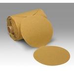 3M™ 051144-21793 363I Closed Coated PSA Boring Head Arbor, 6 in Dia Disc, 80 Grit, Medium Grade, Aluminum Oxide Abrasive, Paper Backing